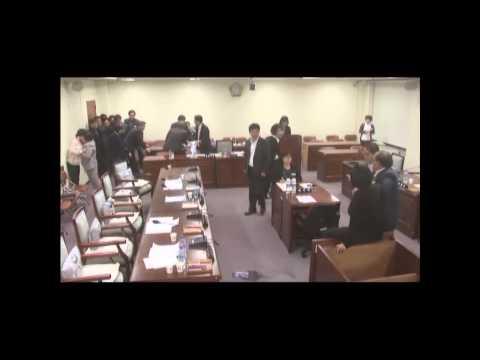 [영상] 진주의료원 폭력날치기 통과 CCTV 영상