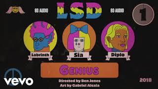LSD - Genius ft. Sia, Diplo, Labrinth   8D Audio    Dawn of Music   