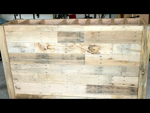 Pallet Wood Bar - Part 2