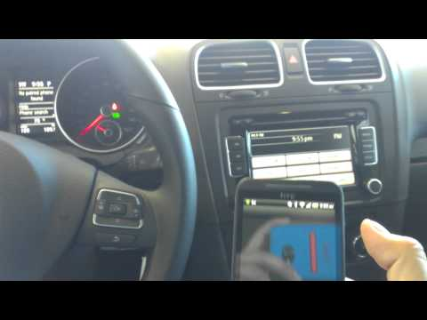 How to program Bluetooth system on a VW