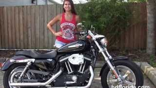 5. Used 2012 Harley Davidson Sportster 1200 Custom Motorcycles for sale