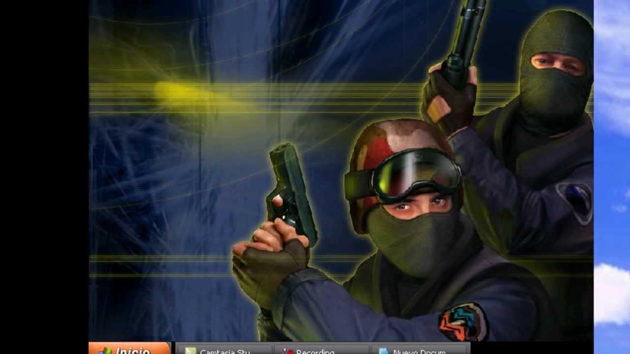 Como descargar e instalar counter strike 1.6 no steam +  mapas, jugadores, armas… Nuevas (HD)