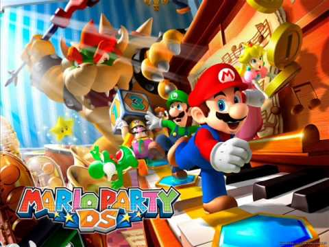 Mario Party DS OST - Minigame Battle Time