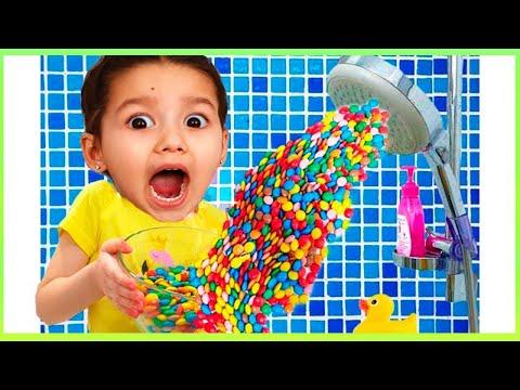 Ammi  Story for kids about harmful sweets and candies Амми история про вредные сладости для детей