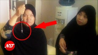 Video Pura-Pura Menjadi Mualaf, Aksi Jahat Wanita Kristen ini akhirnya Terbongkar MP3, 3GP, MP4, WEBM, AVI, FLV Oktober 2017