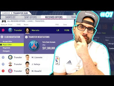 WTF NO! STAR PLAYER SOLD $88,000,000  - FIFA 18 Career Mode Real Madrid #07 (видео)