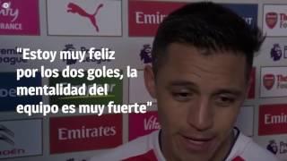 La fea burla de medio español al inglés de Alexis Sánchez