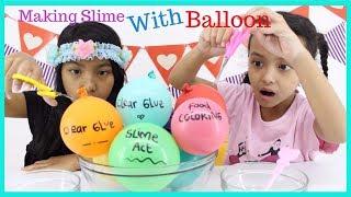 Video MAKING SLIME WITH BALLOON  ♥ TESTING VIRAL INSTAGRAM SLIME BALLOON TUTORIAL MP3, 3GP, MP4, WEBM, AVI, FLV Mei 2019