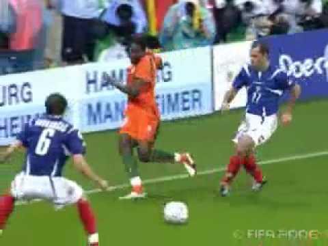 Costa de Marfil 3 - 2 Serbia y Montenegro, Mundial Alemania 2006