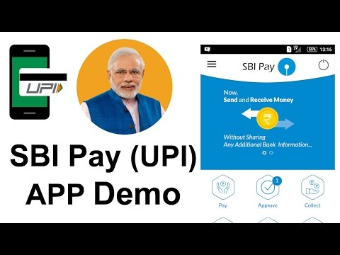 How to use SBI Pay (UPI) APP ?