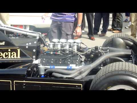 F1 Nigel Mansell's Car Blasts at Bearwood College, Wokingham