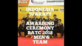 Video MERINDING! AWARDING CEREMONY BADMINTON ASIA CHAMPIONSHIP 2018 - MEN'S TEAM MP3, 3GP, MP4, WEBM, AVI, FLV Mei 2018
