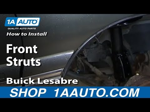 How To Install replace Worn out Front Struts 1990-99 Buick Lesabre Pontiac Bonneville