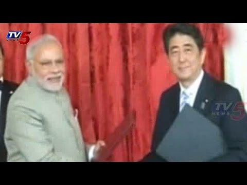 Japan to invest over Rs 2 lakh crore in India : TV5 News