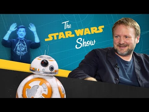 Star Wars: Los Últimos Jedi - The Last Jedi Director Talks With the Director of Hamilton, Making BB-8 Sounds, and More!?>