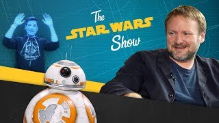 In this installment of The Star Wars Show, Star Wars: The Last Jedi director Rian Johnson catches up with Hamilton and Grease ...