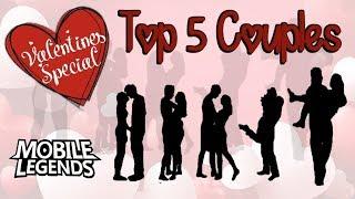 Video Top 5 Couples - Valentines Special - Mobile Legends MP3, 3GP, MP4, WEBM, AVI, FLV April 2019