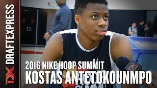 Kostas Antetokounmpo 2016 Hoop Summit - DraftExpress Interview