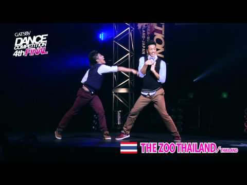 【GDC 4th】GATSBY DANCE COMPETITION 2011-2012:ASIA GRANDFINAL/THE ZOO THAILAND【THAILAND】