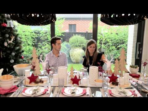 Scandinavian Festive Table Setting | Metricon Homes