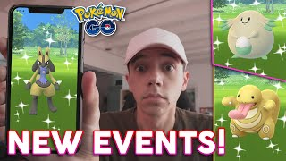 SHINY LUCARIO, SHINY CHANSEY, SHINY LICKITUNG + MORE! (February Events in Pokémon GO) by Trainer Tips
