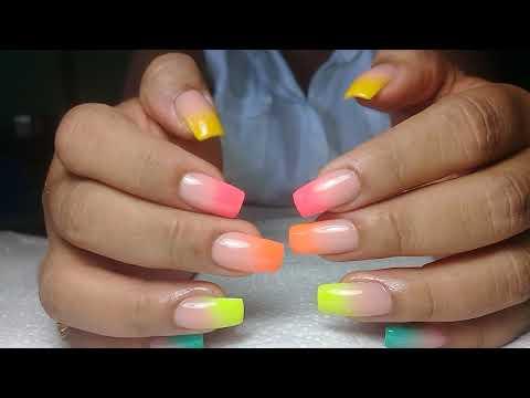 Modelos de uñas - Uñas acrilicas Tendencia de verano