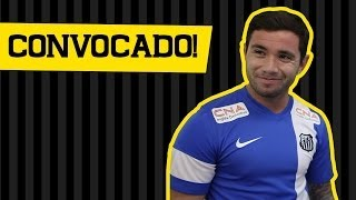 O lateral esquerdo Eugenio Mena foi convocado para a seleção chilena e será o representante do Santos FC na Copa do Mundo...