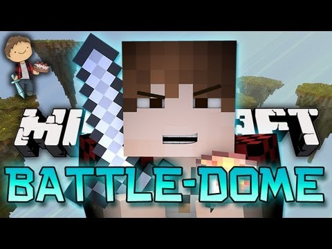 EPIC Minecraft: BATTLE-DOME Mini-Game w/Mitch & Friends!