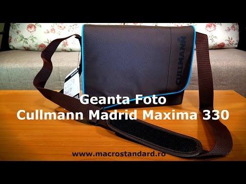 Prezentare Geanta Foto Cullmann Madrid Maxima 330 maro