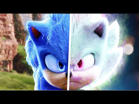 Sonic The Hedgehog Movie Choose Your Favorite Desgin For Both Characters (Hyper Sonic & Sonic)