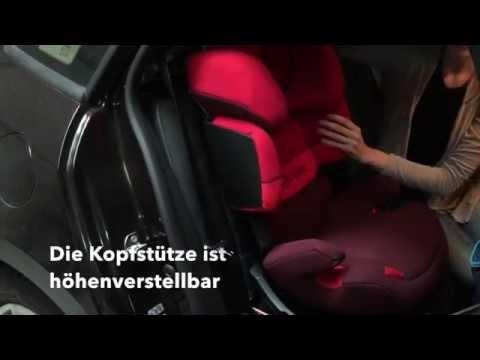 Test: Cybex Pallas fix Kindersitz