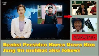 Video Reaksi Presiden Korea Utara melihat aksi Jokowi di Pembukaan Asian Games MP3, 3GP, MP4, WEBM, AVI, FLV Februari 2019