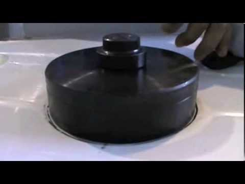 Stainelec 125mm Sink Bowl Swaging Demonstration for Scrap Traps