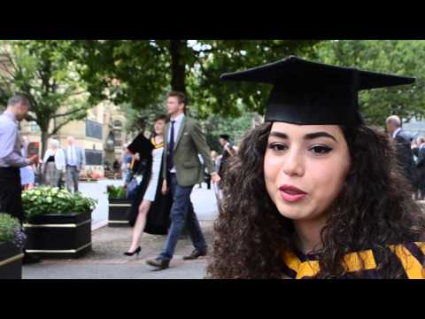 INTO Manchester Alumna Graduation at The University of Manchester- Anoud Al- Fawwaz