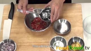 [Thai Food] Pla Dook Fu Dip  (Nam Yum Pla Dook Fu)