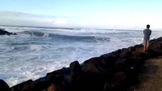 Brunswick Heads Australia  City pictures : Big waves on Brunswick River Bar NSW Australia