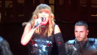 Taylor Swift - I Did Something Bad Live - Levi's Stadium - Santa Clara, CA - 5/11/18 - [HD]