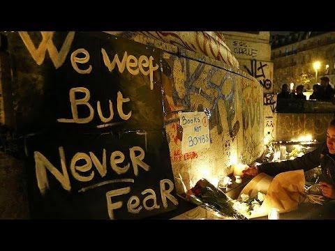 Αλληλεγγύη και πένθος στο Παρίσι