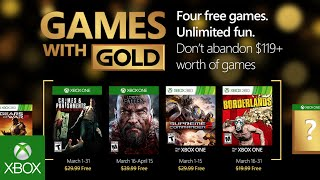 I Games With Gold di marzo
