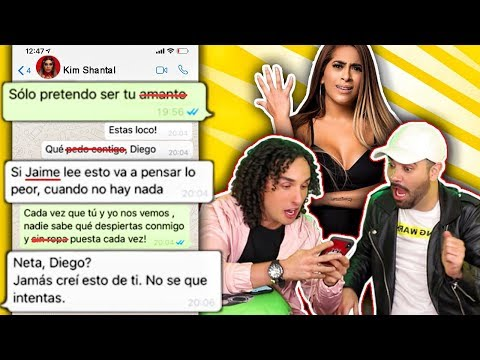 BROMA a Kim Shantal con canciones de Reggaeton