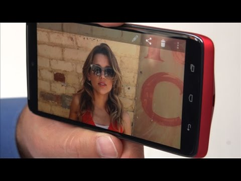 exclusive - http://cnet.co/1wGCoBf Imagine a Moto X but with even better specs: the Droid Turbo could be a dream phone if you crave high-end specs.