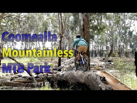 Riding The Local Mountain Bike Track - Coomealla Mountainless MTB Park (видео)