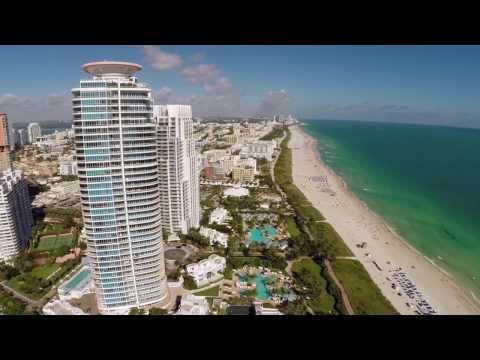 Miami Beach Drone Video