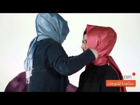 Modanisa.com - Şal Bağlama Modelleri 2014 - Hijab Tutorials 2014 - Model 10