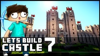 Minecraft Lets Build: Castle - Part 7