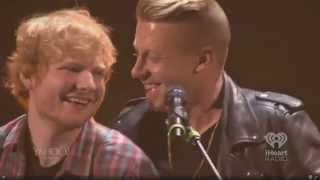 Ed Sheeran w/ Macklemore- Same Love [iHeartRadio 2014]