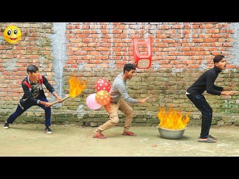 Indian New funny Video😄-😅Hindi Comedy Videos 2020-Episode-45--Indian Fun || Bindas Duniya