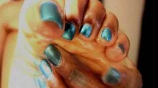 image of Black femdom ebony foot fetish sexy toes part ll