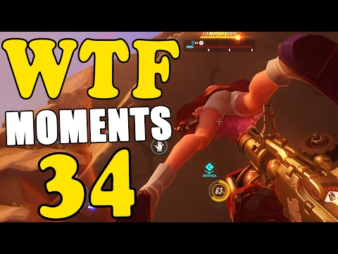 Overwatch Highlight WTF Moment Ep.34 不知羞恥的韓國小女生