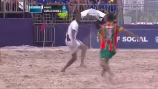 Campeonato Brasileiro de Beach Soccer 2017 - Final - Vasco 5x1 Sampaio Corrêa - Gols